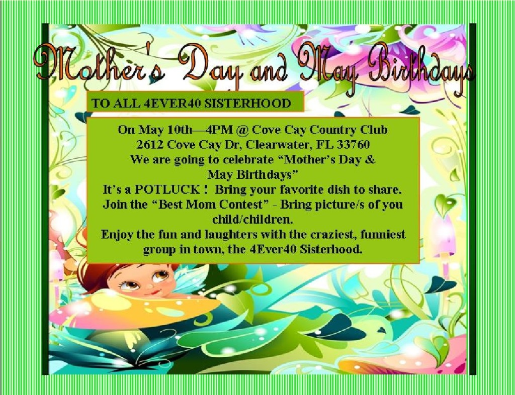 Mother's Day May 10, 2014 Cove Cay Country Club