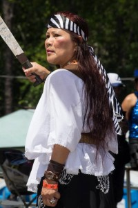 Marilou Tito played the role of Gabriela Silang, María Josefa Gabriela Cariño Silang (19 March 1731 – 20 September 1763) was a Filipino revolutionary leader and the wife of the Ilocano insurgent leader, Diego Silang. Following Diego's assassination in 1763, she led the insurgency for four months before she was captured and executed by the colonial government of the Spanish East Indies.