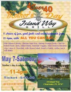 Mother's Day @ Island Grill
