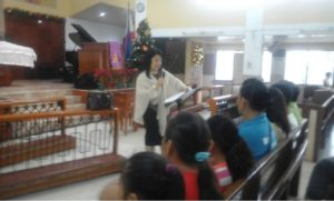 Ma. Luz Polinar gave some briefing about the Akbay Pag-Asa project