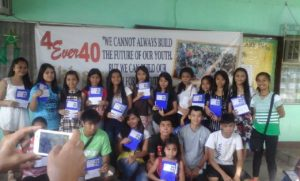 The first batch of beneficiaries of the Akbay Pag-Asa project of 4Ever40 Sisterhood Association, Inc.